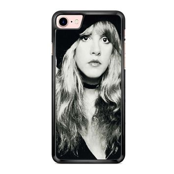 Stevie Nicks Black And White iPhone 7 Case
