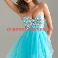 Strapless Homecoming Dress By Night Moves 6487 [Night Moves 6487] - $158.99 : La Femme Homecoming Dresses,Jovani Homecoming,Flirt Dresses