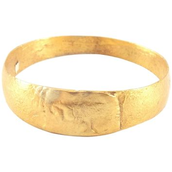 EARLY MEDIEVAL EUROPEAN RING 11th CENTURY