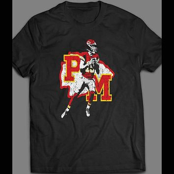 YOUTH SIZE PATRICK MAHOMES INSPIRED VINTAGE DESIGN KIDS T-SHIRT