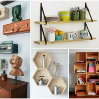 17 Genius Ways to Decorate Your Home with DIY Shelves