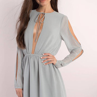 Nicky Cold Shoulder Skater Dress