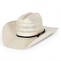 American Hat Company® New Open Weave Cattleman Straw Hat