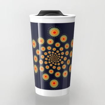 Stars motion Travel Mug by Natalia Bykova