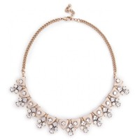 Sole Society Dainty Geo Statement Necklace