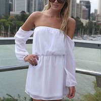 OFF THE SHOULDER DRESS , DRESSES, TOPS, BOTTOMS, JACKETS & JUMPERS, ACCESSORIES, SALE, PRE ORDER, NEW ARRIVALS, PLAYSUIT, Australia, Queensland, Brisbane
