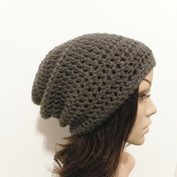 LazyDay Slouch Beanie  Charcoal Gray