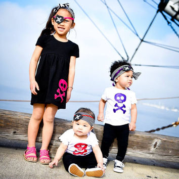 Pirate Shirt, Pirate Costume, Boy Pirate, Girl Pirate, Pirate Party, Pirate Outfit, Skull and Bones, Baby Pirate, Pirate Patch, Pirates