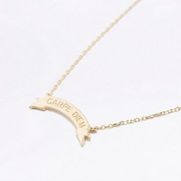 Carpe Diem Necklace - Urban Outfitters