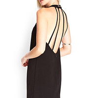FOREVER 21 Cutout Back Shift Dress