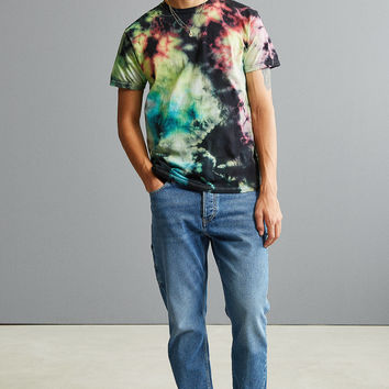 UO 5 Color Tie-Dye Tee | Urban Outfitters