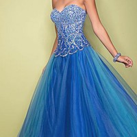 Blush 5228 | Terry Costa: Prom Dresses Dallas, Homecoming Dresses, Pageant Gowns