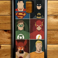 Superhero Dc Comic Samsung Galaxy Note 4 Case