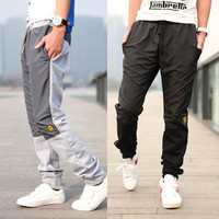 Men's Casual Sport Sweat Pants Harem Training Baggy Jogging Trousers M0571