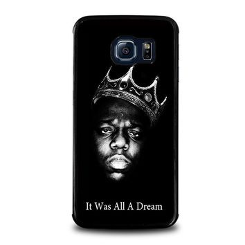 notorious big samsung galaxy s6 edge case cover  number 1
