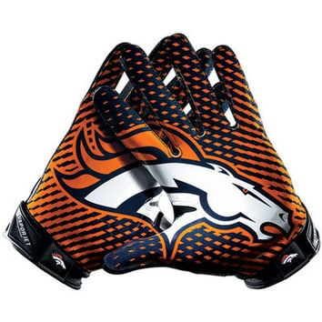 Denver Broncos Nike Team Authentic Series Vapor Jet 2.0 Gloves