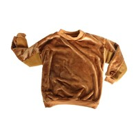 Brown Wool Pullover Sweater