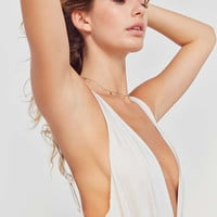 Out From Under Slinky Super Plunging Bodysuit | Urban Outfitters