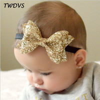 Newborn Shiny Bow Knot Hair band