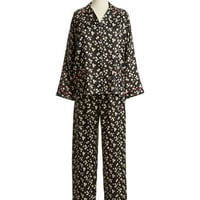 Miss Elaine Floral Two Piece Pajama Set