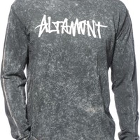 Altamont Oneliner Washed Long Sleeve T-Shirt