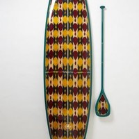 Limited-Edition Stand-Up Paddleboard, Kai Ko'o by Saffron James Yellow One Size House & Home