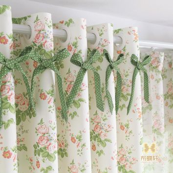 Blackout Curtains Bedroom Ready Made Window Panel Curtains Living Room Polka Dot Fabric Drapes Linen Luxury Rustic Country Blind