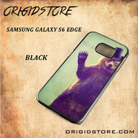 Hello Bear For Samsung Galaxy S6 Edge Case Gift Present - Multiple Choice Material