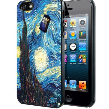 Stary Night Tardis Samsung Galaxy S3 S4 S5 S6 S6 Edge (Mini) Note 2 4 , LG G2 G3, HTC One X S M7 M8 M9 ,Sony Experia Z1 Z2 Case