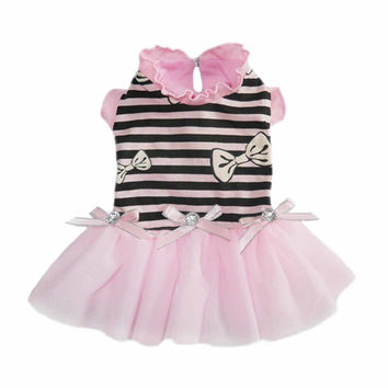 Felicity Party Dog Dress - Pink