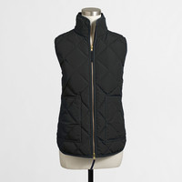 Factory quilted puffer vest : Blazers & Outerwear | J.Crew Factory