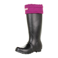 Hunter Moss Welly Sock Dark Violet - Zappos.com Free Shipping BOTH Ways