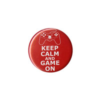 Keep Calm And Game On Pin | Hot Topic