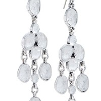 Lucky Brand Chandelier Earring Womens - Medium Gray (One Size)