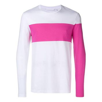 Pink & White Shirt by Helmut Lang