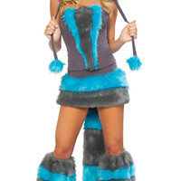 Cat Costumes Skirt and Tail Set