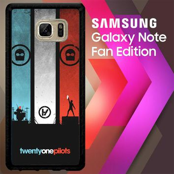 21 Twenty One Pilots L1562 Samsung Galaxy Note FE Fan Edition Case