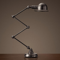 Atelier Scissor Task Table Lamp Bronze