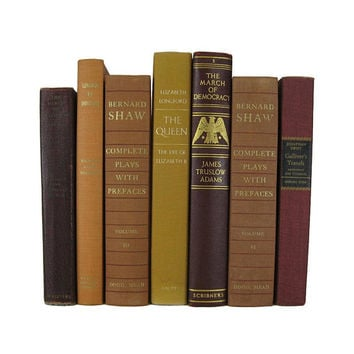 Fall Home Decor,  Brown  Decorative Books , Rustic Decor,  Vintage Books, Wedding Decor,  Thanksgiving Decorations,  Home Decor
