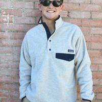 Men's Synchilla Snap-T Fleece Pullover- Oatmeal Heather