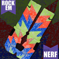 KD IV Nerf Custom Nike Elite Socks | Rock 'Em Apparel