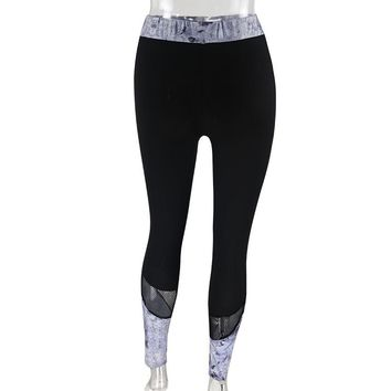 Sporting leggings for women Workout Fitness Sports Gym Running Yoga Pants Gym suits fitness woman #E0