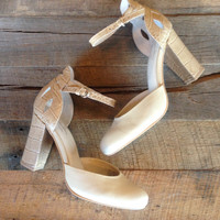Conquer Seychelles Ankle Strap Heel