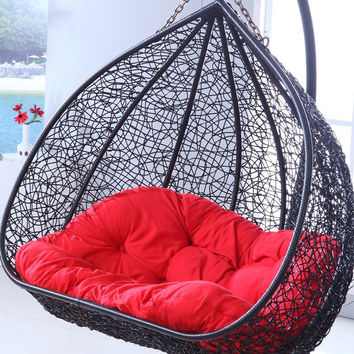 Chair dormitory balcony bedroom double hammock hanging chair