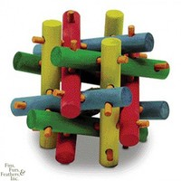 Super Pet Nut Knot Nibbler Wood Chew Toys for Critters