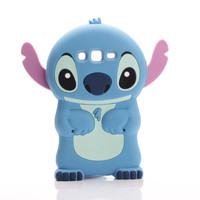 NEW Cute 3D Cartoon Lilo Stich Soft Silicone Back Cover Case For Samsung Galaxy J1 J2 J3 J5 J7 A3 A5 A7 2016 Grand Prime