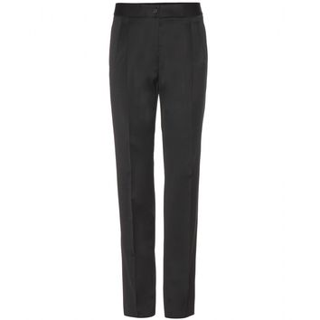 burberry prorsum - tailored stretch-wool trousers