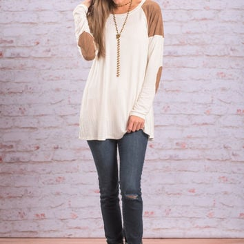 Mend Your Heart Top, Ivory