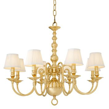 8 Light Shaded Chandelier | Eichholtz Bourbon