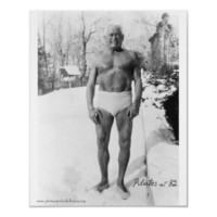 Joe In The Snow Poster from Zazzle.com